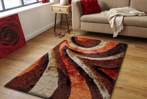Beautiful plain handmade carpet