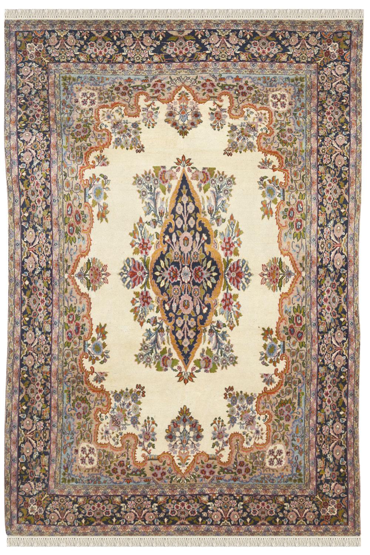 Kirman Afghan Carpet