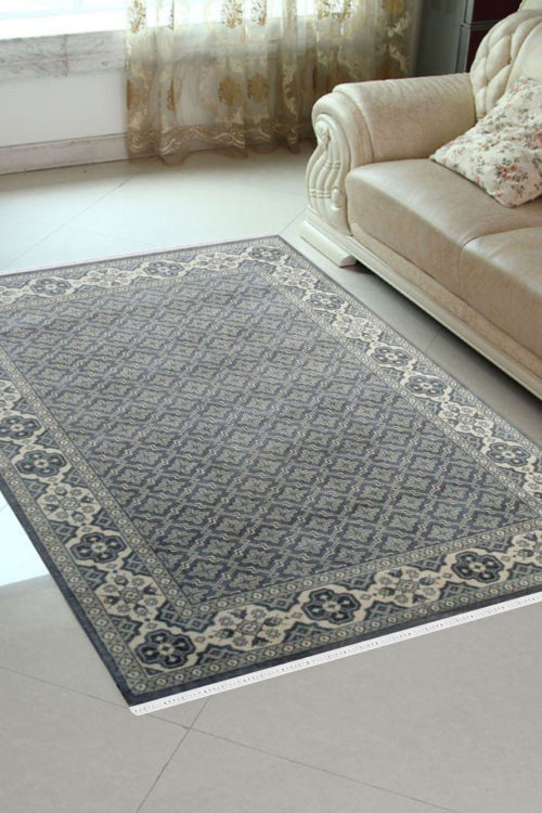 Find The Best Way To Use Handmade Hand Knotted Monochrome Carpet