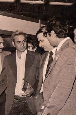 Mr. Talwar with the French Ambassador