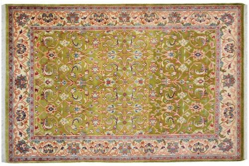 hanknotted wool carpet